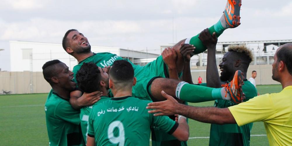 خدمات رفح اكتسح غزة الرياضي بثلاثية لهدف