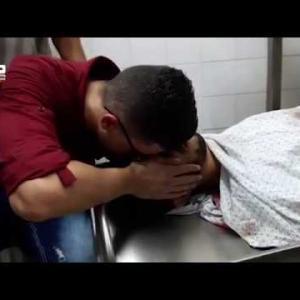 إستشهاد المسعف عبدالله القططي