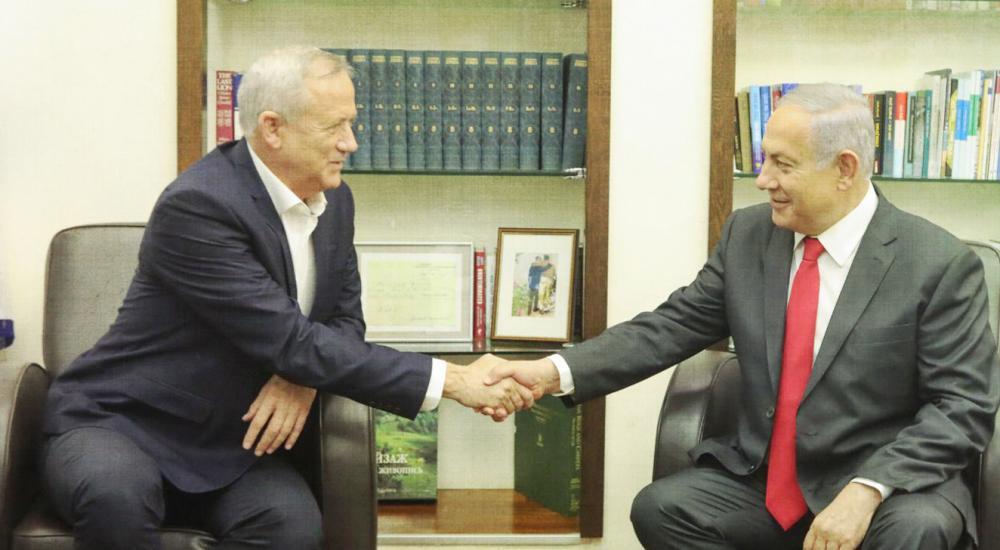 Netanyahu-Gantz-meeting-Blue-and-White-Photo_web