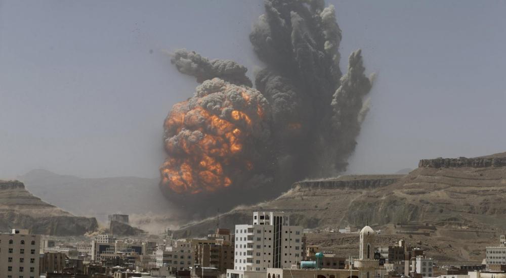 غارة على اليمن