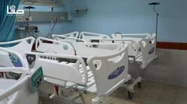 افتتاح أقسام جديدة للعناية المركزة لاستيعاب حالات كورونا بالمشفى الأوروبي