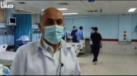 مدير مستشفى غزة الأوروبي يوسف العقاد يتحدث لصفا