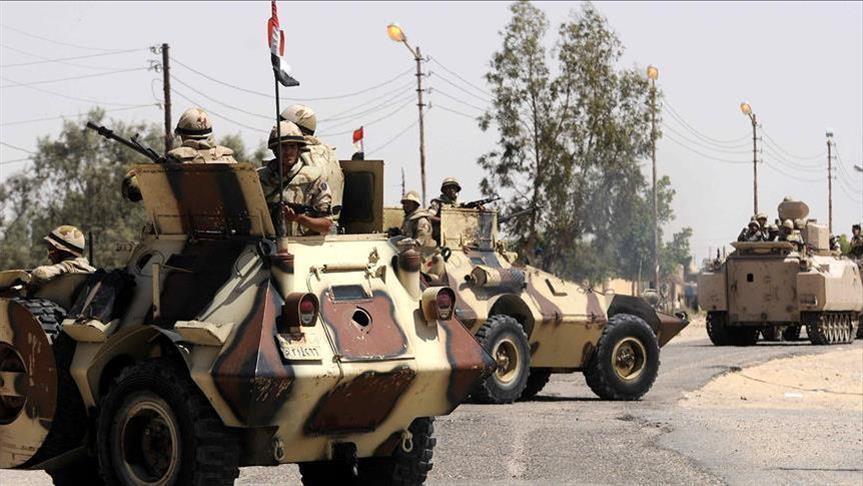 وكالة الصحافة الفلسطينية - الجيش المصري يدفع بمئات الدبابات والمدرعات لرفح والشيخ زويد