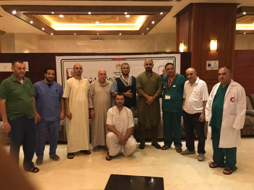 وكالة الصحافة الفلسطينية - الصحة: البعثة الطبية للحج تفتتح عياداتها في مكة
