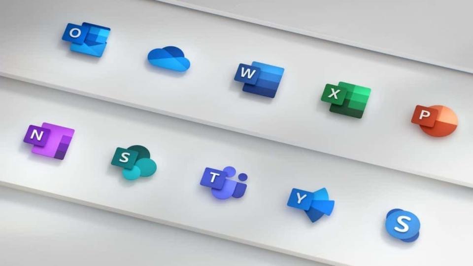 وكالة الصحافة الفلسطينية -  مايكروسوفت  تعيد تصميم أيقونات ويندوز 10