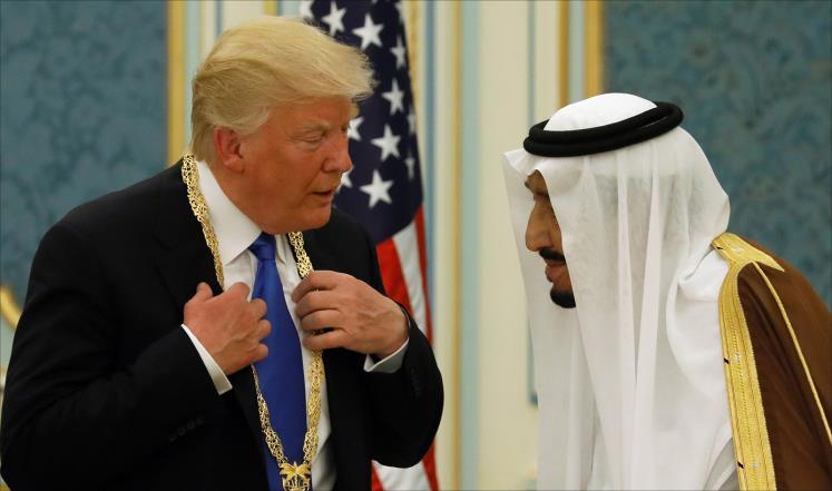 وكالة الصحافة الفلسطينية - الملك سلمان يهنئ ترمب باستعادة الموصل