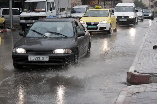 وكالة الصحافة الفلسطينية - الطقس: درجات الحرارة تنخفض وأمطار متفرقة اليوم