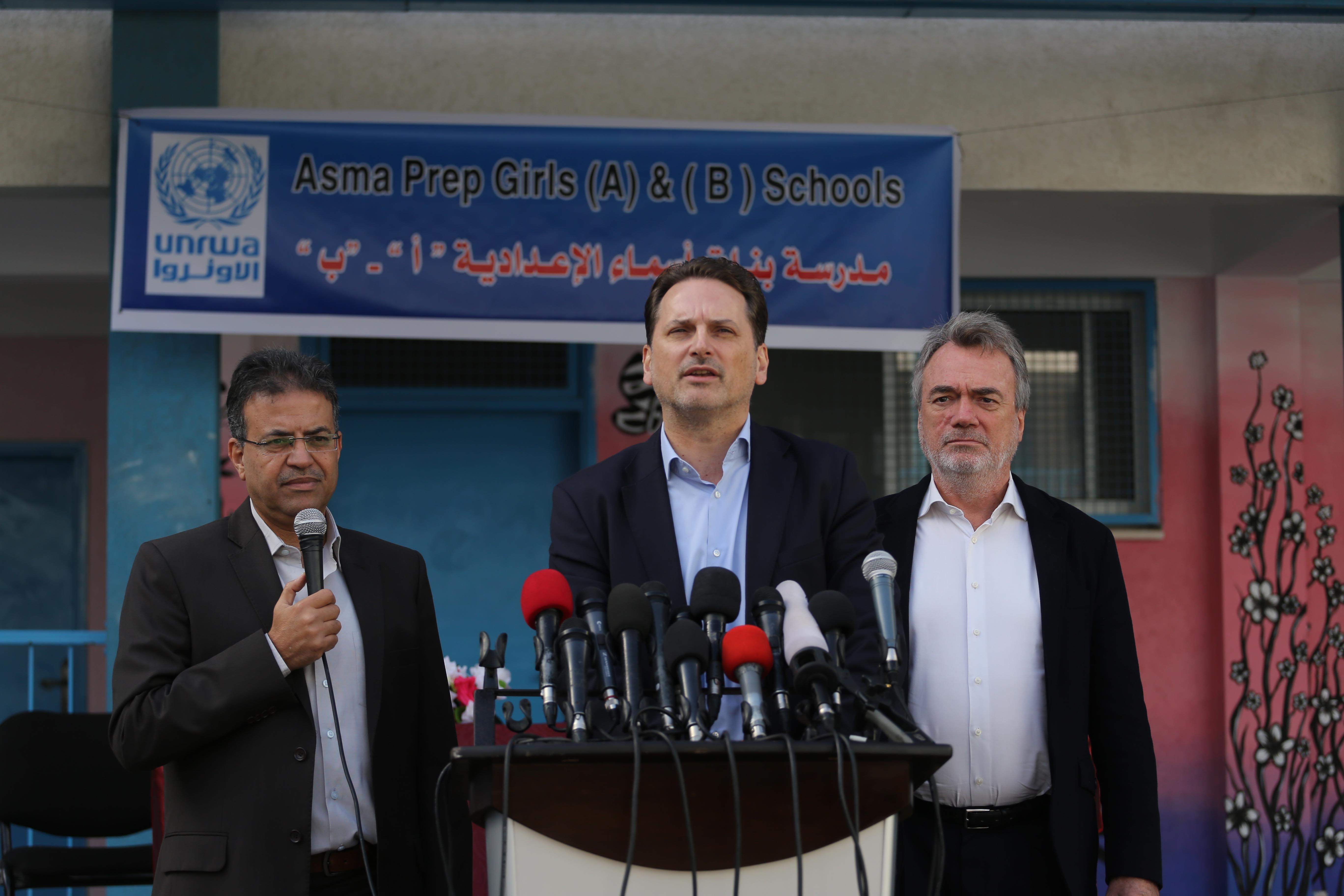 وكالة الصحافة الفلسطينية -  أونروا  تشكل لجنة تقصي حقائق لحل الأزمة مع الاتحادات