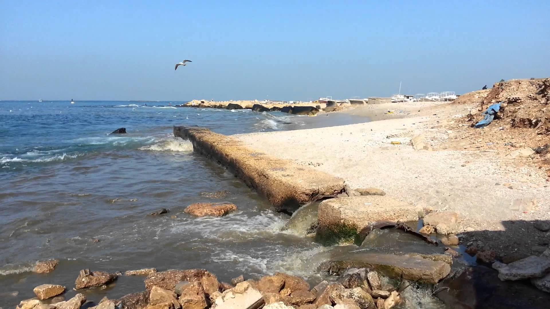 وكالة الصحافة الفلسطينية -  جودة البيئة : انقطاع الكهرباء يحوّل شاطئ غزة إلى مستنقع آسن