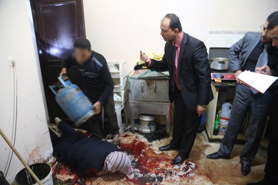 وكالة الصحافة الفلسطينية - قاتل  نسرين .. أعدم جنينها ووأد فرحة أطفالها بتخرجها
