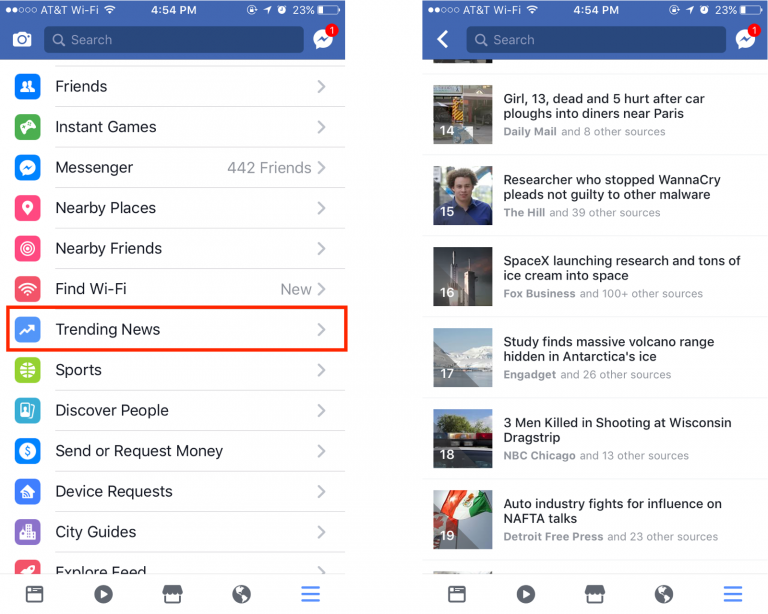 وكالة الصحافة الفلسطينية - آخر الأخبار بحلّة جديدة في تطبيق فيسبوك